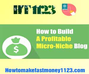 How to make money with niche site 2019