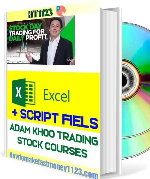 All Adam Khoo Excel Sheets And Scripts